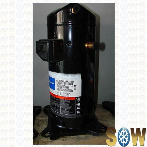 Air Conditioner Condenser >> Copeland Hermetic ZR Series Refrigeration Compressor for ...